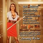 Cover art for Jemezzy Ba'be - Back 2 School (back side)